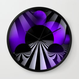 3D - abstraction -120- Wall Clock
