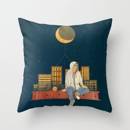 The Stars Above The Ones Under My Feet Throw Pillow