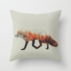 Norwegian Woods: The Fox Throw Pillow