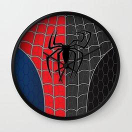 Spider-Man Red/Black Wall Clock