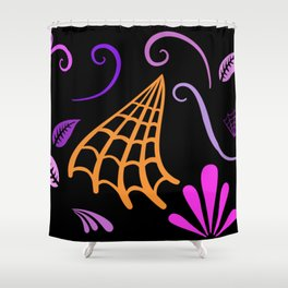 Halloween Nights Created By Kat Co Shower Curtain