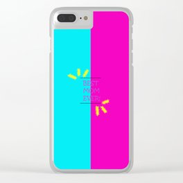 Best mom Clear iPhone Case