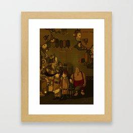 Family Framed Art Print
