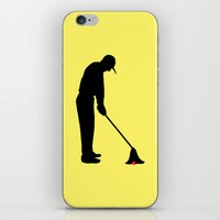 golf iPhone & iPod Skins featuring GOLF by INNOCENT DESIGNER