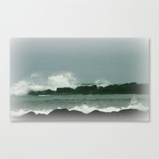 Breakers Canvas Print