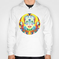 i woke up like this Hoodies featuring I Woke up like This by Anai Greog