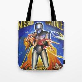 Mission Spatiale Tote Bag