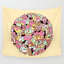 Mumble Wall Tapestry