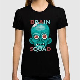 Brain Squad Gang style Graphic T-shirt