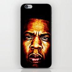 Mr Carter iPhone & iPod Skin