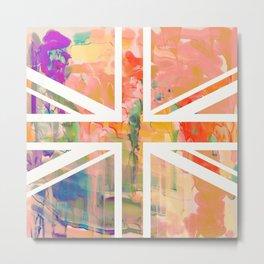 Pastel Britannia Metal Print