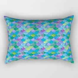 Mermaid Scales Multi Rectangular Pillow