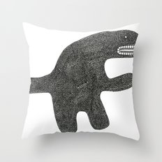 I'm not dangerous Throw Pillow