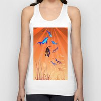 under the sea Tank Tops featuring Under The Sea by Robin Curtiss