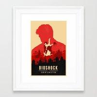 bioshock infinite Framed Art Prints featuring Bioshock Infinite by Bill Pyle