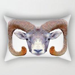 Aries Ram Rectangular Pillow