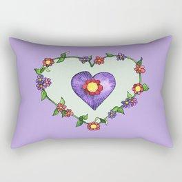 Heartily Floral Rectangular Pillow