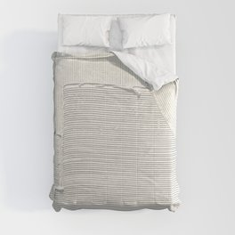 Relief [2]: an abstract, textured piece in white by Alyssa Hamilton Art Comforters