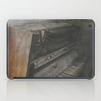 piano iPad Cases featuring Piano by Claudia Ma
