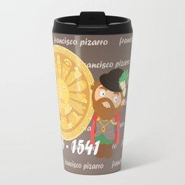 Francisco Pizarro Travel Mug