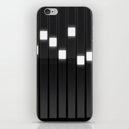 Light Grid iPhone Skin
