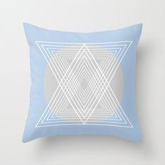 Everything belongs to geometry #7 Throw Pillow