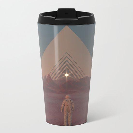 Lost Astronaut Series #01 - Enter the Void Metal Travel Mug