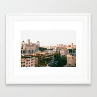 italy Framed Art Prints featuring italy by paulina