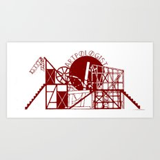 Artpologist Constructivist Logo Art Print