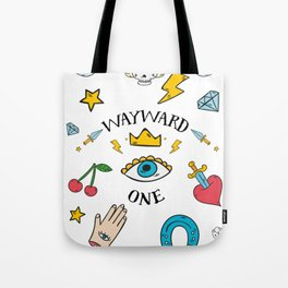 Wayward One - Old School Tattoo Flash Art Tote Bag