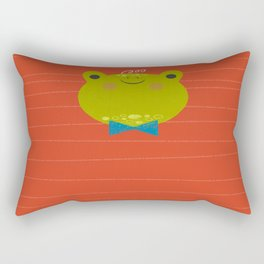 Dressy Froggy Rectangular Pillow