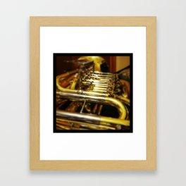 Brass Framed Art Print
