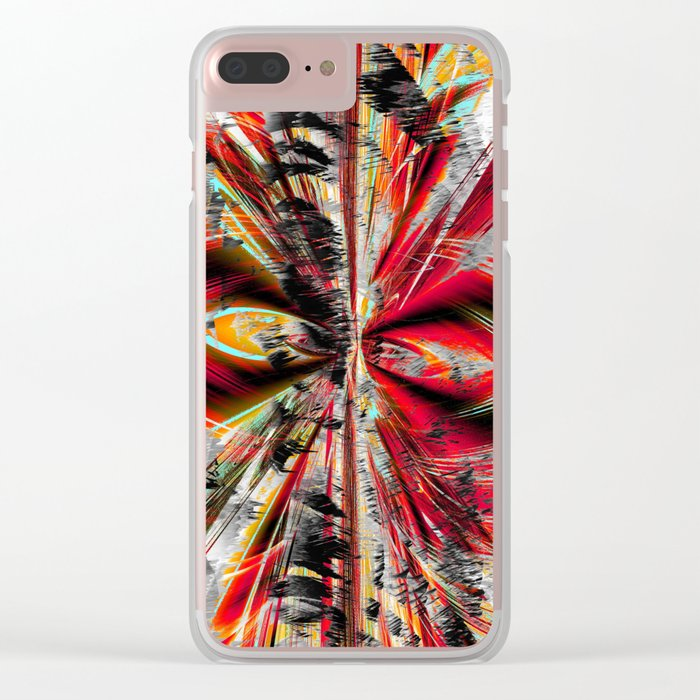 stormy weather in autumn Clear iPhone Case
