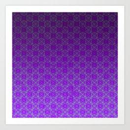 D20 Heathen Crit Pattern Premium Art Print