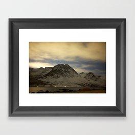 Norwegian mountains 1 Framed Art Print