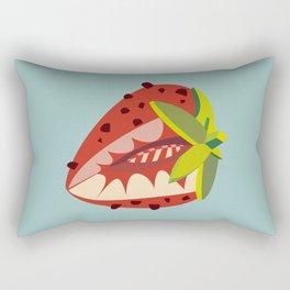Strawberry illustration Rectangular Pillow