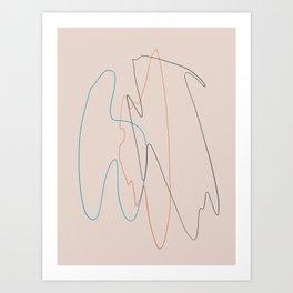 Line Study Art Print