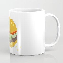 Pixel Burger Coffee Mug