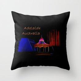 Electrified Adelaide Throw Pillow