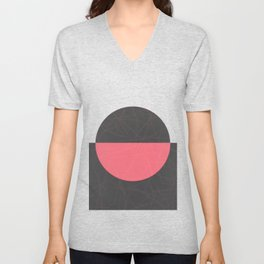 Bloody Lunar Eclipse Unisex V-Neck