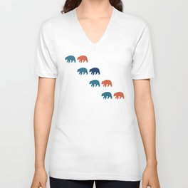 Black Bear (Pacific) Unisex V-Neck