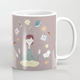 Yoga time Coffee Mug