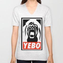 YEBO WARRIOR Unisex V-Neck
