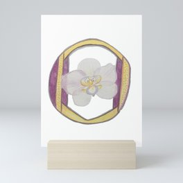 O is for Orchid Mini Art Print