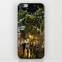 nashville iPhone & iPod Skins featuring Nashville Nightwalks by joralyssadan