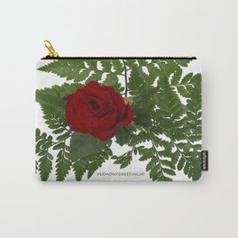 Rose in Winter Carry-All Pouch