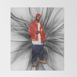 Big L  Throw Blanket