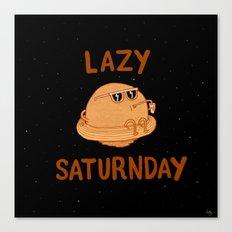 Lazy Saturnday Canvas Print