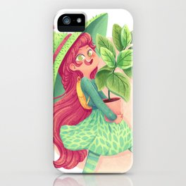 Plant witch iPhone Case