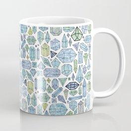 Magical Crystals - Illustration Pattern Coffee Mug